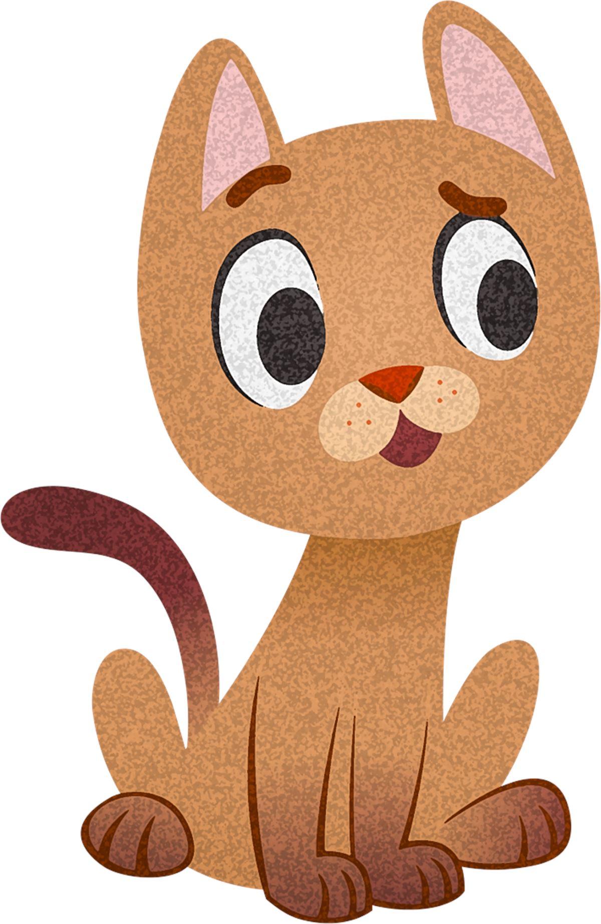 Adesivi murali gattino sorpreso leostickers for Planner cameretta